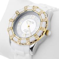 Zegarek damski QQ damskie DA39-504 - duże 2
