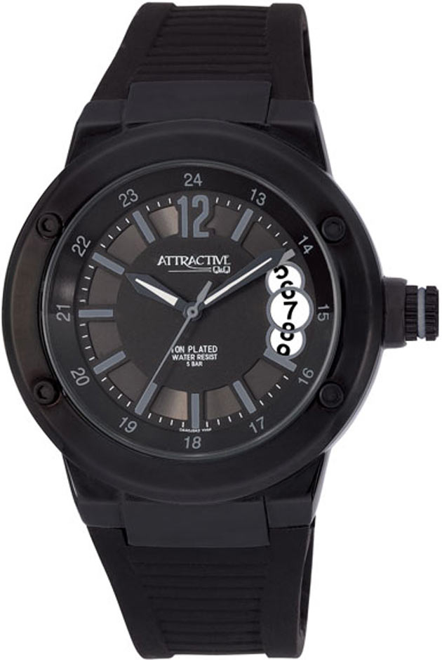 Zegarek damski QQ damskie DA40-542 - duże 1