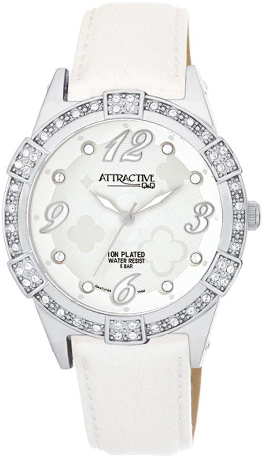 Zegarek damski QQ damskie DA47-304 - duże 1