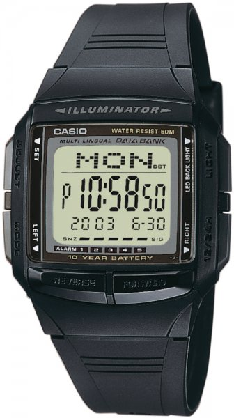 Zegarek Casio DB-36-1A - duże 1