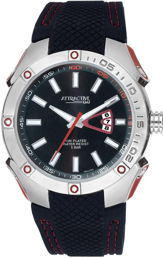 Zegarek QQ DB24-302 - duże 1