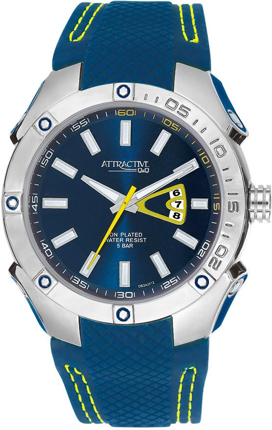 Zegarek QQ DB24-312 - duże 1