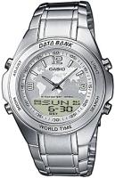 Zegarek męski Casio analogowo - cyfrowe DBW-30D-7AVEF - duże 1