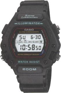 Casio DW-290-1VS Sportowe