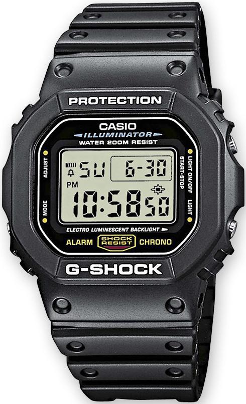 G-Shock DW-5600E-1VZ G-SHOCK Original TIMECATCHER