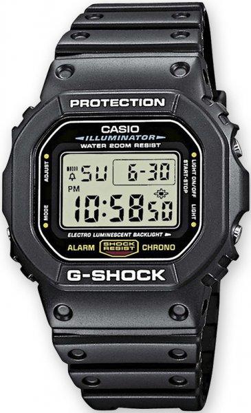 Zegarek Casio G-SHOCK DW-5600E-1VZ - duże 1