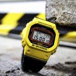 Zegarek męski Casio g-shock DW-5600TB-1ER - duże 5