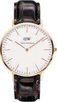 Zegarek męski Daniel Wellington classic DW00100011 - duże 1