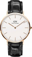 Zegarek męski Daniel Wellington classic DW00100014 - duże 1