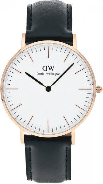 Zegarek męski Daniel Wellington classic DW00100036 - duże 3