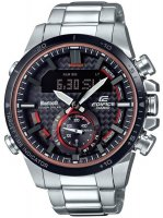 Zegarek męski Casio EDIFICE edifice premium ECB-800DB-1AEF - duże 1