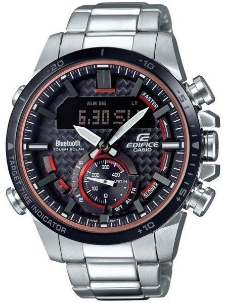 Zegarek Casio EDIFICE ECB-800DB-1AEF - duże 1