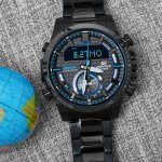 Zegarek męski Casio edifice premium ECB-800DC-1AEF - duże 4