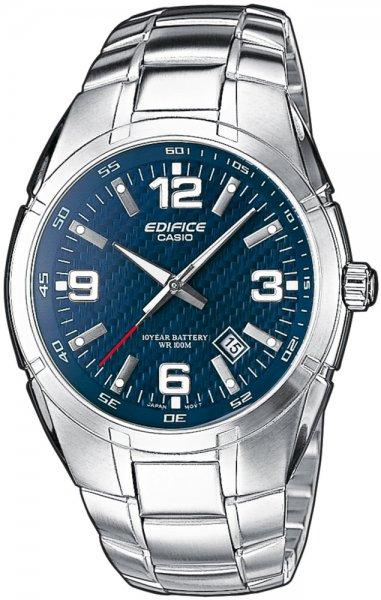Zegarek męski Casio EDIFICE edifice momentum EF-125D-2AVEF - duże 1