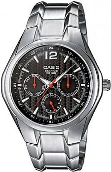 Zegarek męski Casio EDIFICE edifice EF-309D-1AVEF - duże 1