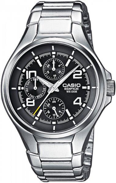 Zegarek męski Casio EDIFICE edifice momentum EF-316D-1A - duże 1