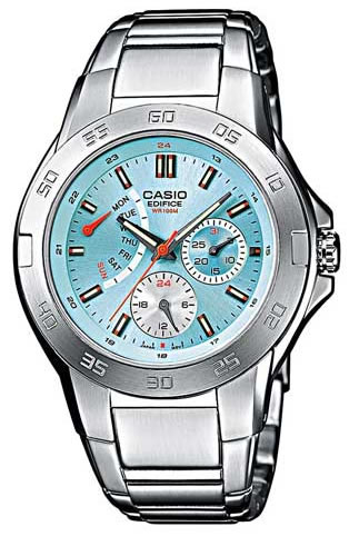 Zegarek Casio EF-318D-2AVEF - duże 1
