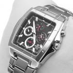 Edifice EF-329D-1AVEF EDIFICE Momentum zegarek męski sportowy mineralne