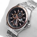 Edifice EF-340SB-1A5VEF Edifice zegarek męski sportowy mineralne