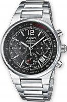 Zegarek męski Casio edifice momentum EF-500D-1AV - duże 1