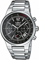 Zegarek męski Casio edifice momentum EF-500D-1AV - duże 2