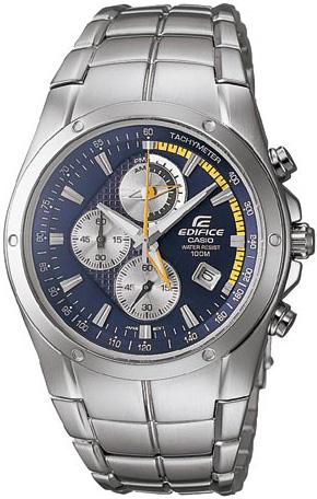 Zegarek męski Casio EDIFICE edifice EF-516D-2AVEF - duże 1