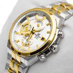Edifice EF-556SG-7AVEF Edifice zegarek męski sportowy szafirowe