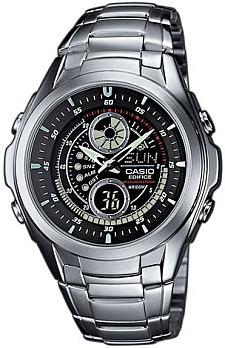 Zegarek Casio EDIFICE EFA-116D-1A1VEF - duże 1