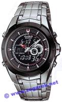 Zegarek męski Casio EDIFICE edifice EFA-119BK-1A - duże 1