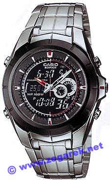 Zegarek Casio EDIFICE EFA-119BK-1A - duże 1