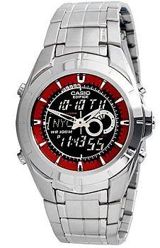 Zegarek męski Casio wyprzedaż EFA-119D-1A4 - duże 1