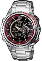 Zegarek męski Casio EDIFICE edifice momentum EFA-121D-1AVEF - duże 1