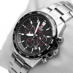 Edifice EFR-518SB-1AVEF EDIFICE Momentum zegarek męski sportowy mineralne
