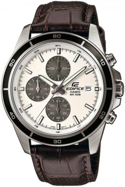 Zegarek męski Casio EDIFICE edifice momentum EFR-526L-7AVUEF - duże 1