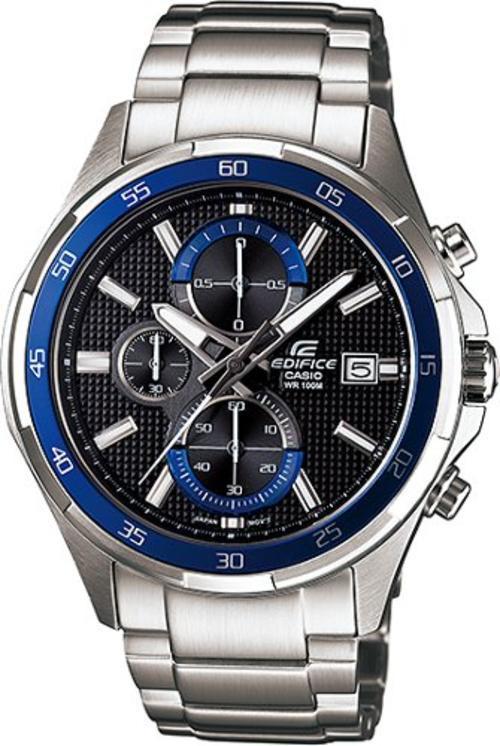 Zegarek męski Casio EDIFICE edifice momentum EFR-531D-1A2VUEF - duże 1