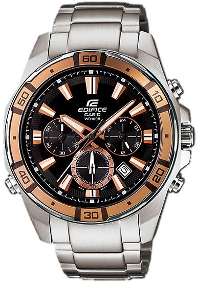 Zegarek męski Casio EDIFICE edifice EFR-534D-1A9VEF - duże 1