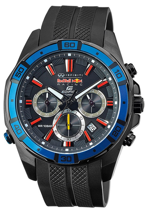 Zegarek Edifice Casio Infiniti RedBull Racing 2014 LIMITED - męski - duże 3