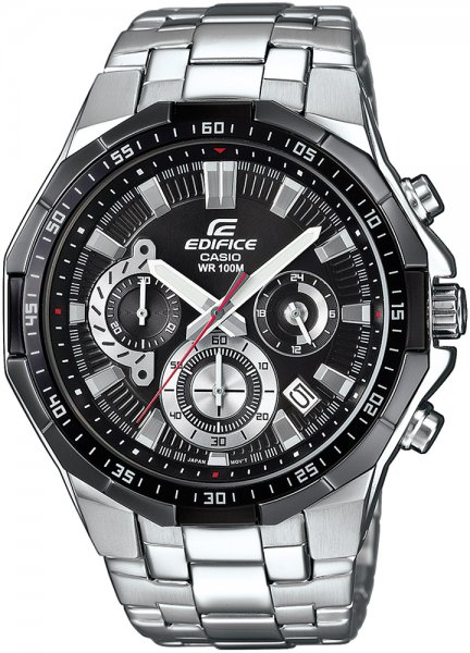 Zegarek Casio EDIFICE EFR-554D-1AVUEF - duże 1