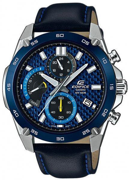 Zegarek Casio EFR-557BL-2AVUEF - duże 1