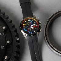 Zegarek męski Casio edifice premium EFR-557TRP-1AER - duże 2