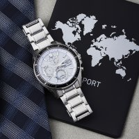 Zegarek męski Casio edifice premium EFS-S510D-7AVUEF - duże 2