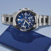 Zegarek męski Casio EDIFICE edifice premium EFS-S530D-2AVUEF - duże 2