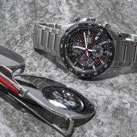 Zegarek męski Casio EDIFICE edifice premium EFS-S540DB-1AUEF - duże 2