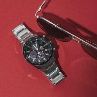 Zegarek męski Casio EDIFICE edifice premium EFS-S540DB-1AUEF - duże 3