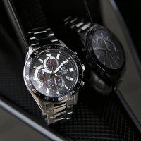 Zegarek męski Casio edifice EFV-550D-1AVUEF - duże 2