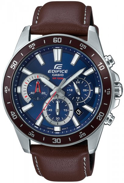 Zegarek męski Casio EDIFICE edifice momentum EFV-570L-2AVUEF - duże 1