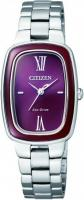 Zegarek damski Citizen elegance EM0006-53W - duże 1