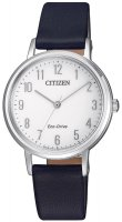 Zegarek damski Citizen ecodrive EM0571-16A - duże 1