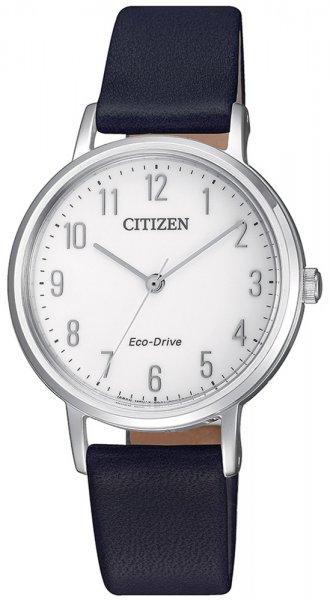 Zegarek damski Citizen ecodrive EM0571-16A - duże 3
