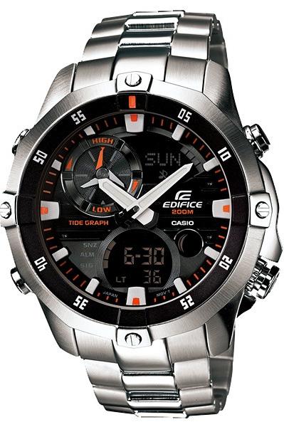 Zegarek Casio EDIFICE EMA-100D-1A1VEF - duże 1